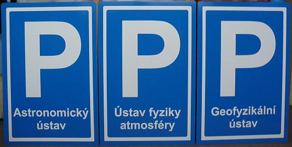 Parkoviště reservé
